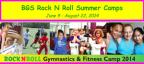 Broadway Gymnastic School Rock N Roll Summer Camps